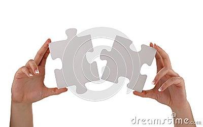 Jigsaw piece solution
