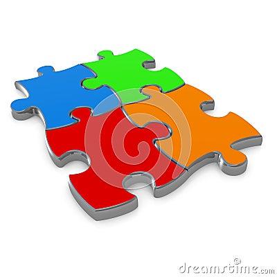 Free Jigsaw Puzzle Stock Image - 4034801