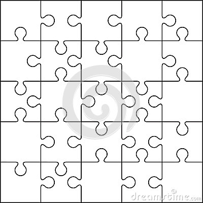 25 Jigsaw Puzzle Blank Template Image Image 36326311 – Blank Puzzle Template