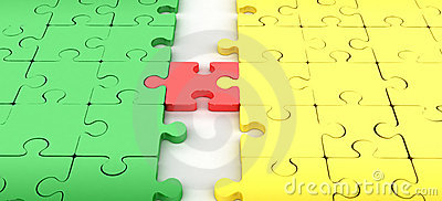 Jigsaw puzzle connect