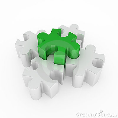 Jigsaw Puzzle, Green One