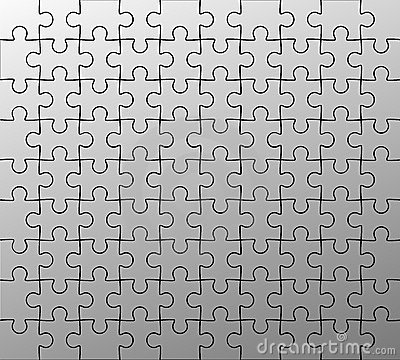 Free Jigsaw Puzzle Pattern Royalty Free Stock Images - 3438789