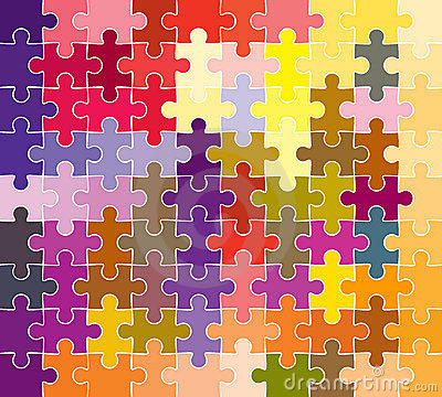 Puzzle Piece Pattern Free Patterns