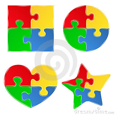 Free Jigsaw Puzzle Pieces Stock Photography - 20702232