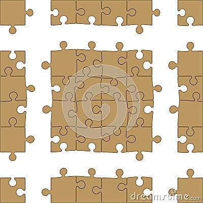 Jigsaw Fashion on Printable Blank Jigsaw Puzzle
