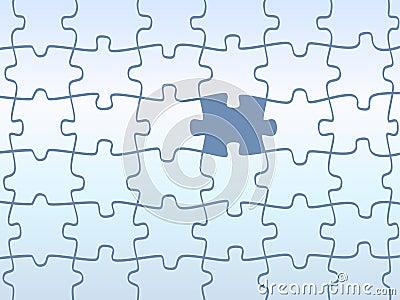 Jigsaw puzzles pattern