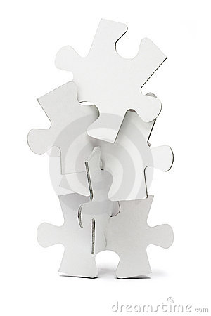 Jigsaw puzzles tower
