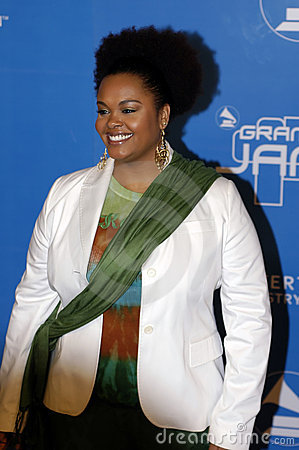Jill Scott on the red carpet. Editorial Photo