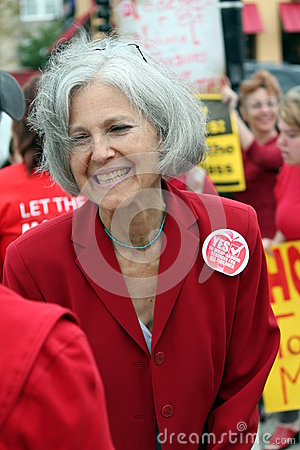 Jill Stein Green Party presidential candidate Editorial Image