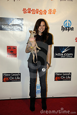 Jillian Clare on the red carpet. Editorial Stock Photo
