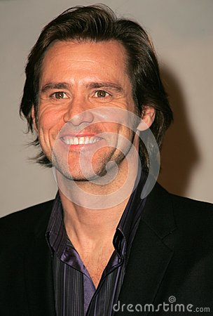 Jim Carrey Editorial Stock Photo