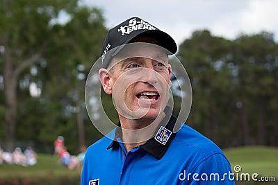 Jim Furyk Editorial Photo