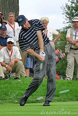 Jim Furyk PGA Golf Professional Editorial Photography