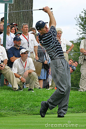 Jim Furyk PGA Golf Professional Editorial Image