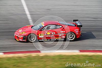 JimGainer Ferrari 11, SuperGT 2010 Editorial Image