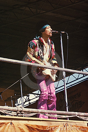 Jimi Hendrix Editorial Photography