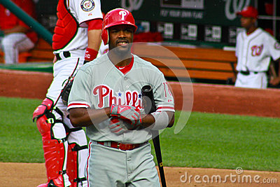 Jimmy Rollins Philadelphia Phillies Editorial Photography