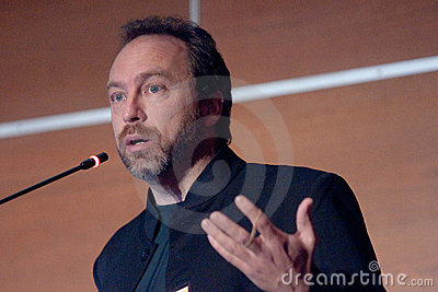 Jimmy Wales Editorial Image