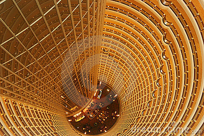 Jin Mao Tower Inner View