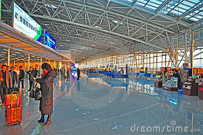 Jinan international airport, china Editorial Photo