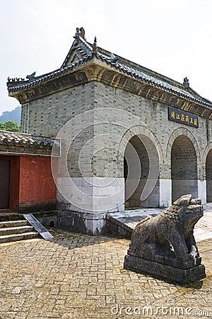 Jingjiang Royal Tombs, Guilin, China