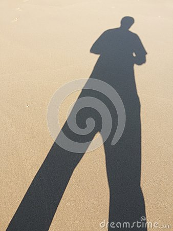 Free ๋Jinn Sand Shadow Stock Photography - 53664442