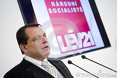 Jiri Paroubek Editorial Image