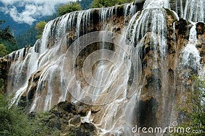Jiu Zhai Gou, China: Pearl Shoal Waterfall