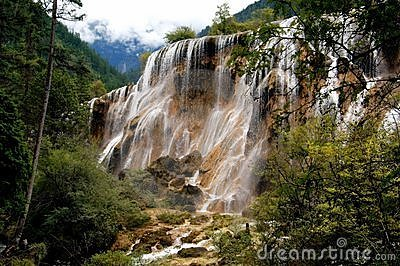 Jiu Zhai Gou, China: Pearl Shoal Waterfall