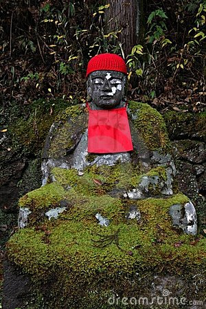 Free Jizo Statues In Nikko, Japan Royalty Free Stock Photography - 7726217