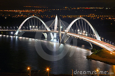 The JK bridge - Brasilia landmark
