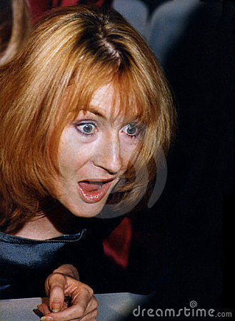 JK Rowling Editorial Image