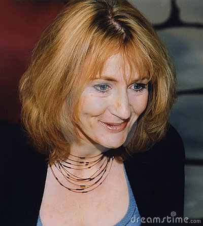 JK Rowling Editorial Stock Image