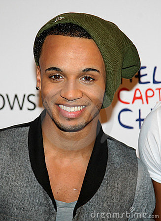 JLS, Aston Merrygold Editorial Stock Image