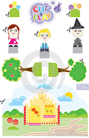 Free João E Maria Cut & Play Royalty Free Stock Photo - 9153165
