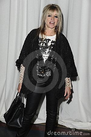 Jo Wood Editorial Stock Image