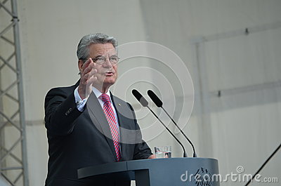 Joachim Gauck , President of Germany Editorial Image