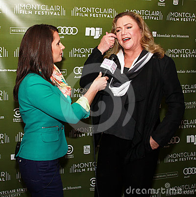Joanna Gagis and Kathleen Turner Editorial Image