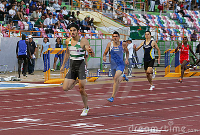 Joao Ferreira (SCP) 400 meters men Editorial Photography