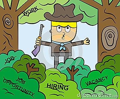 The job hunter
