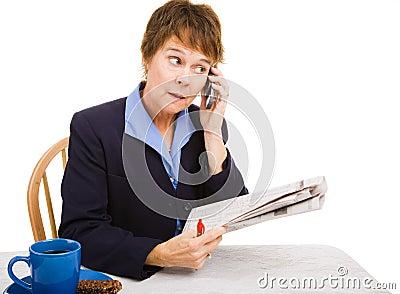 Job Hunting - Making Calls