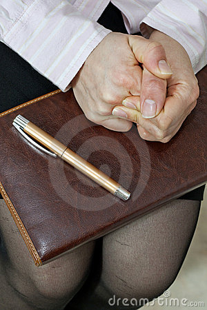Job Interview And Stress Royalty Free Stock Images - Image: 22797429