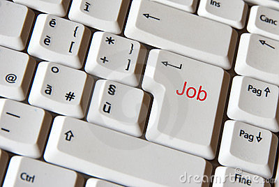 Job on keyboard