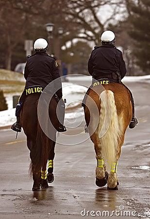 On the Job - Mounted Patrol