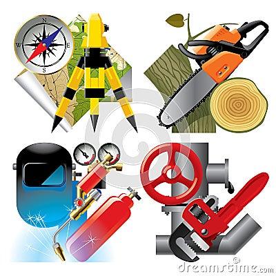 Job occupation icons