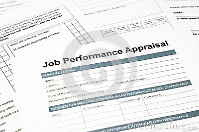 Job Performance Appraisal Form For Business Royalty Free – Employee Performance Evaluation Form Free Download