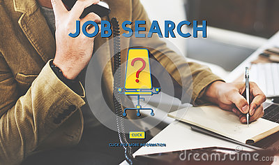 Job Search Career Plan Occupation Concept Stock Photo