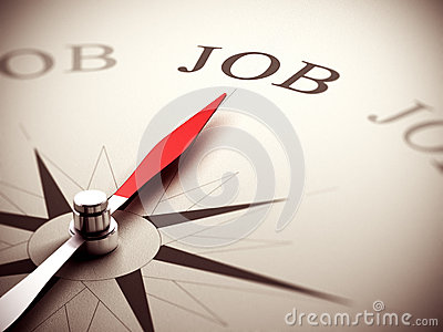 Job Search Concept, Career Counseling