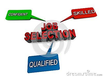 Job selection