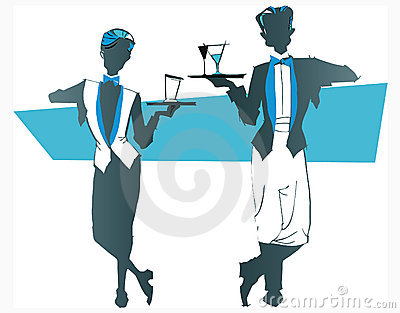 Job series -waitress  waiter